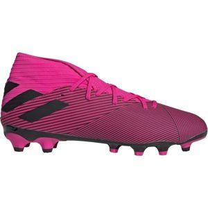 adidas NEMEZIZ 19.3 MG rózsaszín 8.5 - Férfi futballcipő