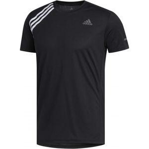 adidas OWN THE RUN TEE fekete S - Férfi póló futáshoz