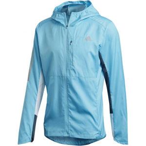 adidas OWN THE RUN JKT kék S - Férfi futó kabát