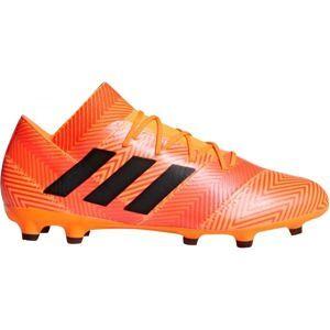 adidas NEMEZIZ 18.2 FG narancssárga 8 - Férfi futballcipő