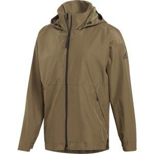 adidas URBAN CLIMAPROOF RAIN barna 2XL - Férfi kabát