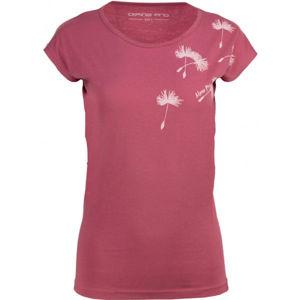 ALPINE PRO BANA rózsaszín XS - Női póló