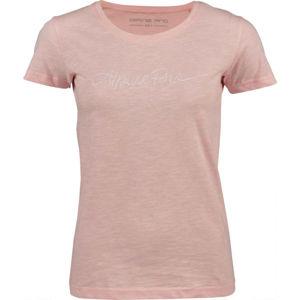 ALPINE PRO FARIDA rózsaszín L - Női póló