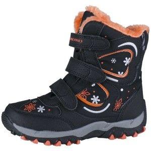 ALPINE PRO KABUNI fekete 34 - Gyerek téli cipő
