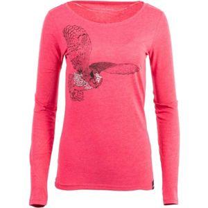 ALPINE PRO TORA rózsaszín XL - Női póló