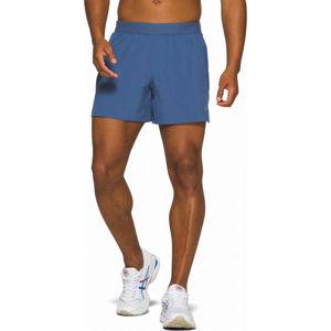 Asics ROAD 5IN SHORT kék S - Férfi rövidnadrág futáshoz