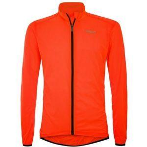 Briko FRESH PACKABLE narancssárga M - Könnyű kerékpáros kabát