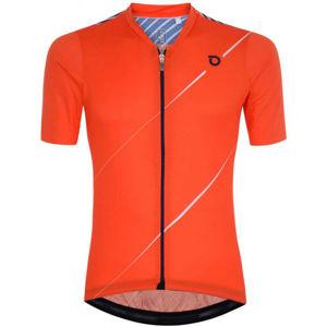 Briko FRESH GRANPH 4S0 narancssárga XL - Férfi kerékpáros mez