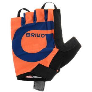 Briko GRANFONDO 5R0 narancssárga L - Kerékpáros kesztyű