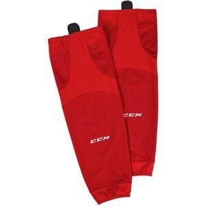 CCM 6000 EDGE SOCK JR piros NS - Gyerek jéghoki harisnya