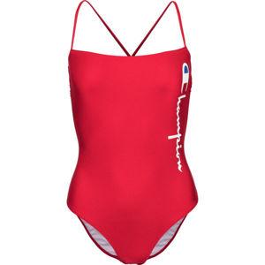 Champion SWIMMING SUIT piros M - Női egyrészes fürdőruha