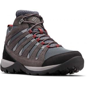 Columbia REDMOND V2 MID WP sötétszürke 10 - Férfi outdoor cipő