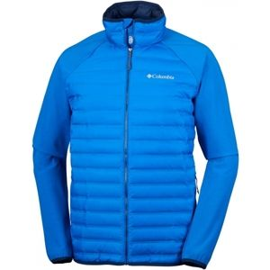 Columbia FLASH FORWARD HYBRID JACKET kék XL - Férfi télikabát