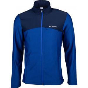 Columbia MAXTRAIL™ MIDLAYER FLEECE kék M - Férfi fleece kabát