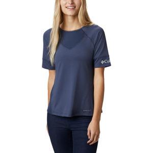 Columbia WINDGATES SS TEE kék XL - Női póló sportoláshoz
