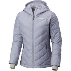 Columbia HEAVENLY HOODED JACKET szürke XS - Női kabát