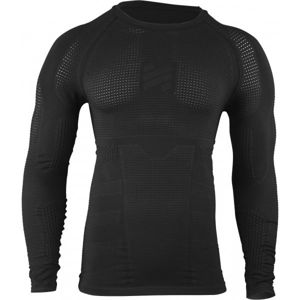 Compressport TACTICAL RAIDER COMPRESSION SHIRT LS fekete L - Férfi termo póló