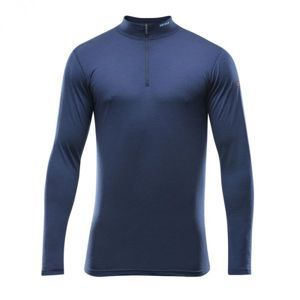 Devold BREEZE MAN HALF ZIP NECK kék XL - Férfi funkcionális póló