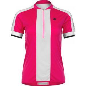 Etape NELLY rózsaszín S - Női kerékpáros mez