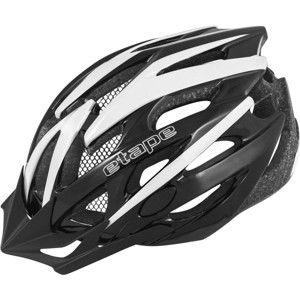 Etape TWISTER 2 WHITE fekete (55 - 56) - Férfi kerékpáros sisak