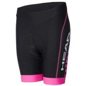 Head SHORT CLASSIC rózsaszín XS - Női kerékpáros rövidnadrág