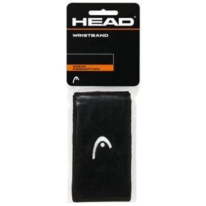 Head WRISTBAND 5 fekete NS - Csuklópánt