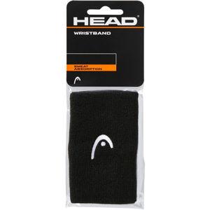 Head WRISTBAND 5 fekete NS - Csuklószorító