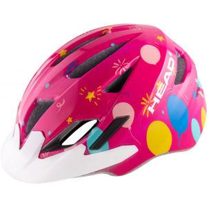 Head Y11A OUT MOULD rózsaszín (52 - 56) - Gyerek kerékpáros sisak