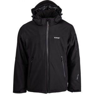 Hi-Tec GIKO fekete 3xl - Férfi softshell kabát