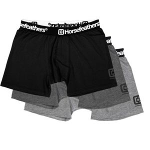 Horsefeathers DYNASTY 3PACK BOXER SHORTS - Férfi boxeralsó