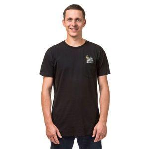 Horsefeathers GRENADE T-SHIRT fekete S - Férfi póló