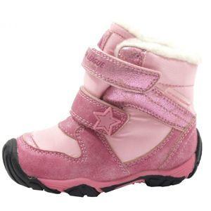Junior League VERA rózsaszín 21 - Gyerek téli cipő
