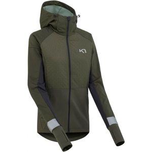 KARI TRAA TOVE sötétzöld XL - Női funkcionális kabát