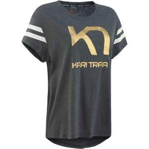 KARI TRAA VILDE TEE sötétszürke XL - Női póló