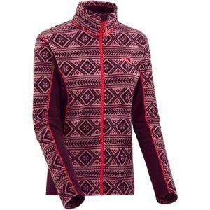 KARI TRAA FLETTE borszínű S - Női pulóver