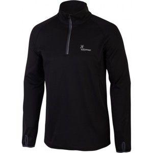 Klimatex CHARLIE fekete XXL - Férfi outdoor pulóver