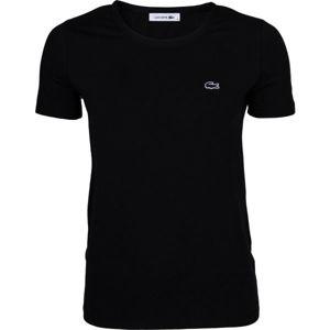 Lacoste ZERO NECK SS T-SHIRT fekete S - Női póló