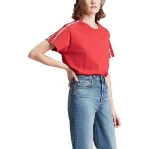 Levi's VARSITY TEE piros S - Női póló