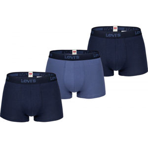 Levi's MEN BACK IN SESSION TRUNK 3P  S - Férfi boxeralsó