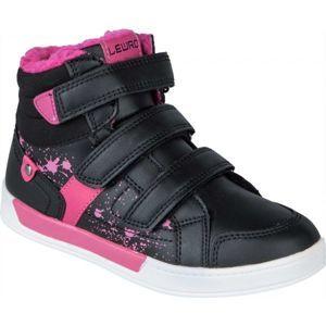 Lewro CUSTOS II fekete 33 - Gyerek téli cipő