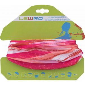 Lewro DAX rózsaszín UNI - Gyerek multifunkcionális kendő