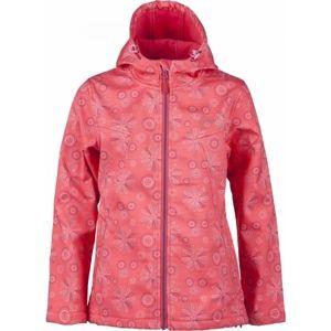 Lewro HEDVIKA 116-134 rózsaszín 116-122 - Lány softshell kabát