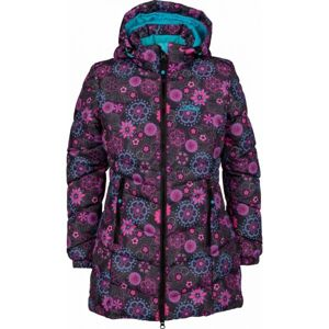 Lewro BRUNELA barna 164-170 - Lányos steppelt kabát