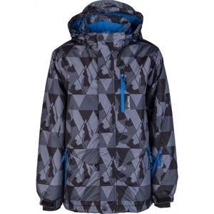 Lewro LOGAN szürke 152-158 - Gyerek kabát snowboardozáshoz