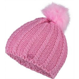 Lewro PAJKA rózsaszín 8-11 - Lány kötött sapka