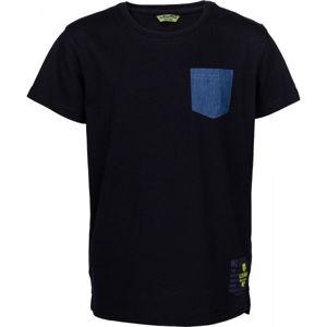 Lewro JANYK fekete 152-158 - Fiú póló