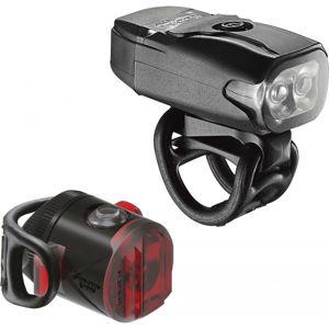 Lezyne KTV DRIVE / FEMTO USB PAIR fekete NS - Kerékpárlámpa szett