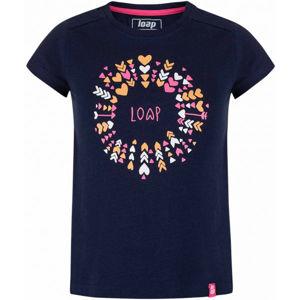 Loap BARIE fekete 146-152 - Lány póló