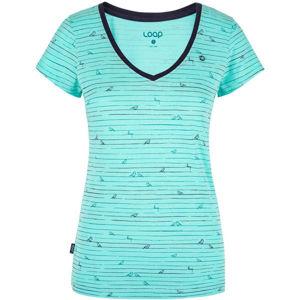 Loap BAFFY kék M - Női póló