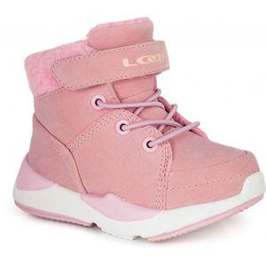 Loap JIMMA rózsaszín 31 - Gyerek téli cipő